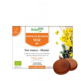 Pastillas blandas voz - 24 chicles | Herbalgem